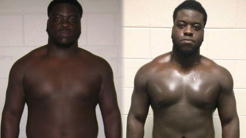 Robert Landers before and after