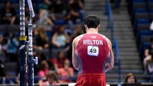 Sean Melton preparing for battle