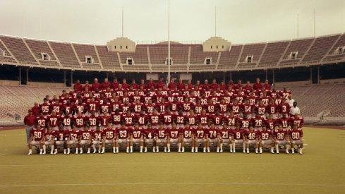The 1984 Ohio State University football team.