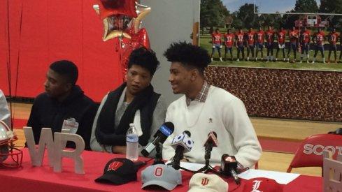 Malik Harrison on signing day