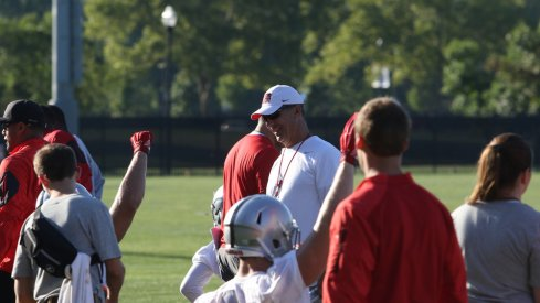 Notes from Ohio State's first freshmen practice in 2016 fall camp.
