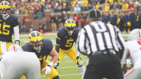 Michigan's Jabrill Peppers in last year's Ohio State-Michigan game.