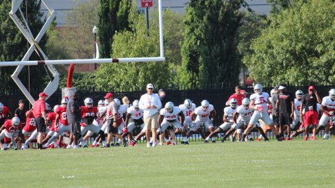 Notebook from Ohio State's third fall practice.