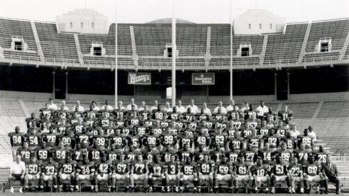 The 1993 Ohio State University football team.