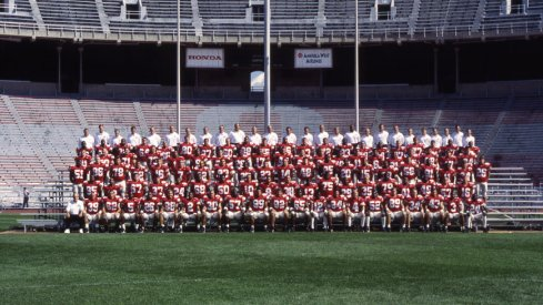 The 1996 Ohio State University football team.