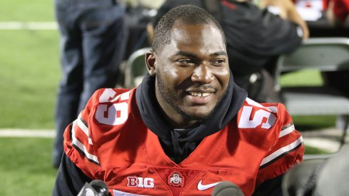 Tyquan Lewis at Ohio State's media day