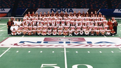 The 1997 Ohio State University football team.
