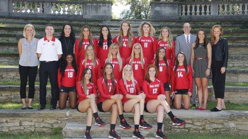 Ohio State Women's Volleyball team