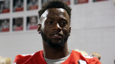 Torrance Gibson feels more comfortable playing wide receiver in his second year at the position.