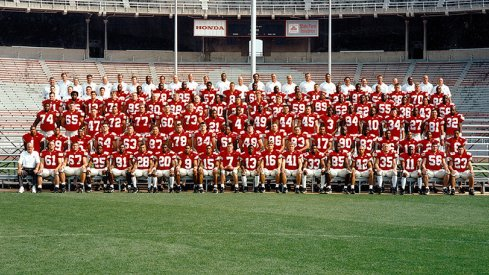 The 1998 Ohio State University football team.