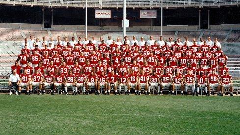 The 1998 Ohio State University football team.
