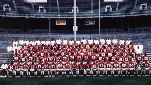 The 1999 Ohio State University football team.