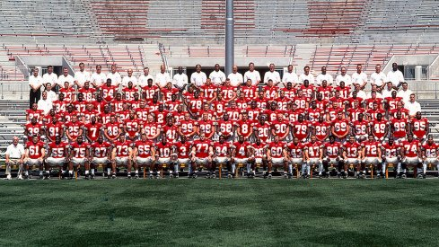 The 2000 Ohio State University football team.