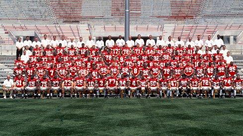 The 2000 Ohio State University football team.
