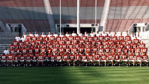 The 2001 Ohio State University football team.