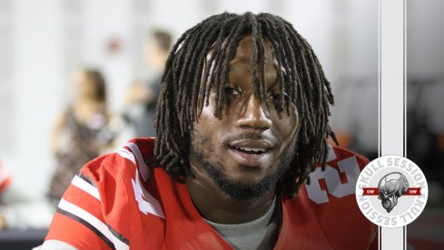 Malik Hooker wore the dreads for the August 20th 2016 Skull Session.