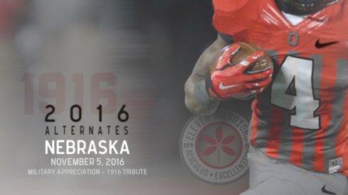 Ohio State set to wear 1916 throwback uniforms Nov. 5 against Nebraska.