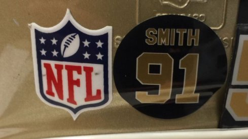 Photo: New Orleans Saints Will Smith Decals