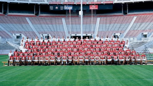 The 2003 Ohio State University football team.