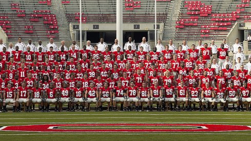 The 2007 Ohio State University football team.