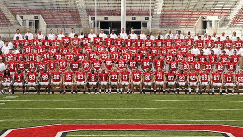 The 2008 Ohio State University football team.