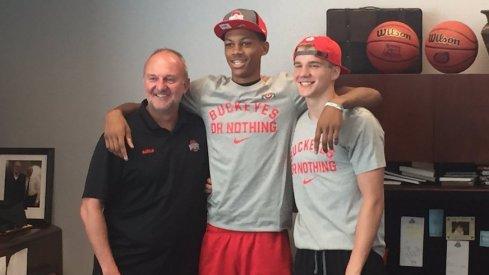 Darius Bazley, Justin Ahrens commit to Ohio State.