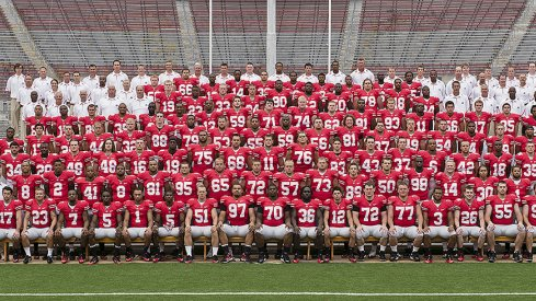 The 2010 Ohio State University football team.
