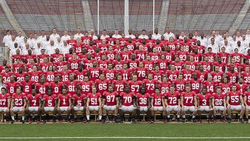 The 2010 Ohio State University football team.