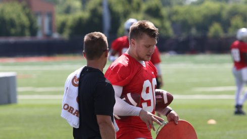 Ohio State kicker Sean Nuernberger is out with a groin injury.