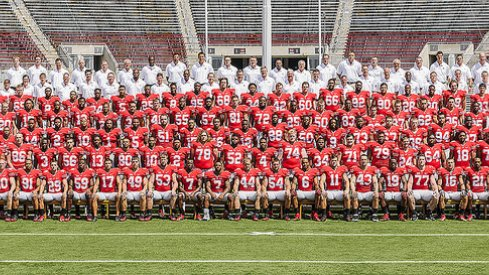 The 2012 Ohio State University football team.