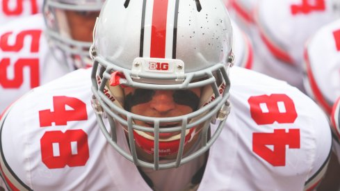 Ohio State senior linebacker Joe Burger