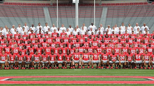 The 2013 Ohio State University football team.