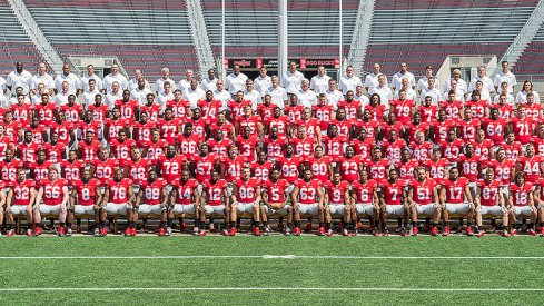 The 2014 Ohio State University football team.