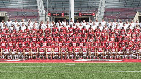 The 2015 Ohio State University football team.