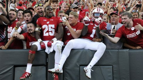 The Badgers were victorious at Lambeau.