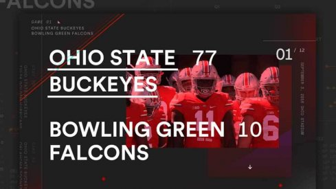 Ohio State Bowling Green Statagram