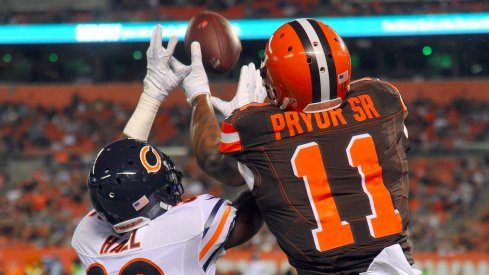 Terrelle Pryor to start for the Cleveland Browns Sunday against the Philadelphia Eagles