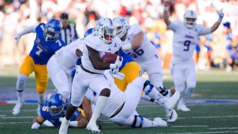 D'Angelo Brewer and Dane Evans lead Tulsa into Ohio Stadium on Saturday.