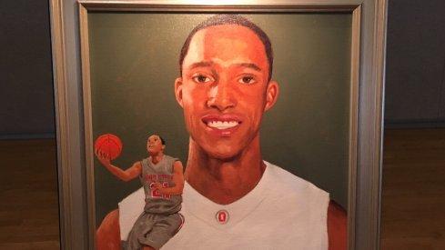 Evan Turner's Hall of Fame Portrait