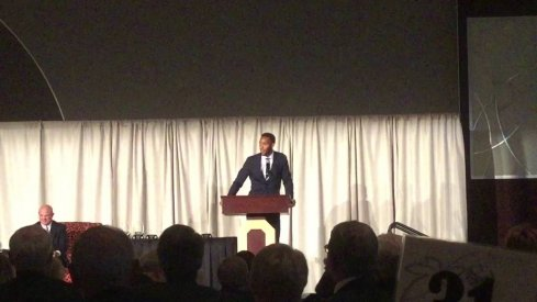 Evan Turner Gives his Ohio State Hall of Fame induction speech.