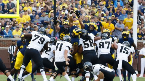The Wolverine special teams came through on Saturday.
