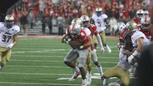 Dontre Wilson and Curtis Samuel are showing the versatility at H-back that Urban Meyer always wanted at Ohio State.
