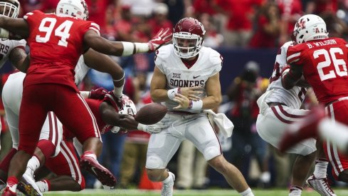 Greg Schiano sees Brett Favre when he scouts Baker Mayfield and Ohio State knows it must contain the Oklahoma QB to win.