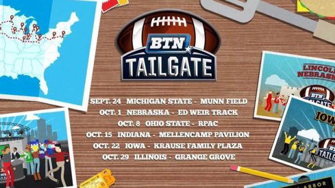 BTN Tailgate is coming to Columbus on Oct. 8
