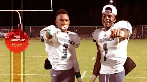 Jaylin Simpson, left, and Jashawn Sheffield