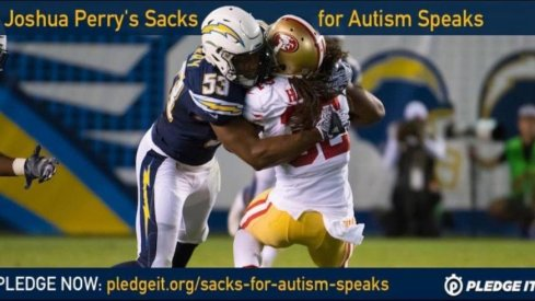 Joshua Perry wants help in fighting Autism.