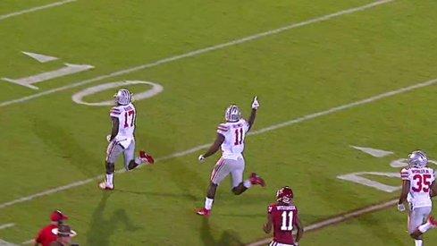 Jerome Baker returns 68-yard touchdown.