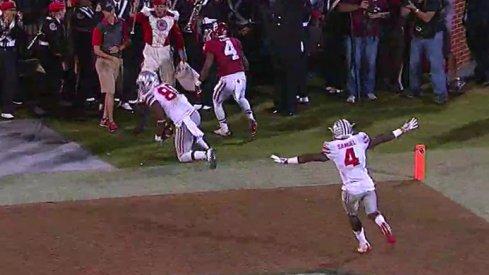Noah Brown second touchdown reception.