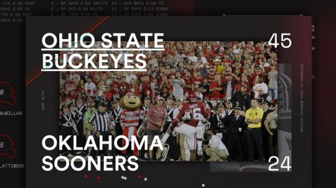 Ohio State Oklahoma Infographic Header