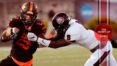 Kwantel Raines makes a tackle